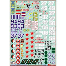 BGM-48019 Begemot decals 1/48 Sukhoi Su-24 Fencer Russian Attack Aircraft