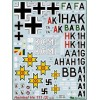 BGM-72008 Begemot decals 1/72 Heinkel He-111 German WW2 bomber decal sheet (part 2)