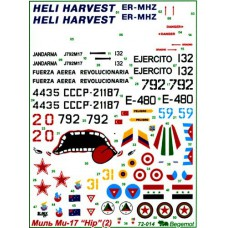 BGM-72014 Begemot decals 1/72 Mil Mi-17 Hip (Part 2)