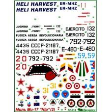 BGM-72014 Begemot decals 1/72 Mil Mi-17 Hip (Part 2)