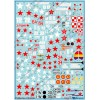 BGM-72043 Begemot decals 1/72 Polikarpov I-16 Soviet Fighter of pre-War and WW2