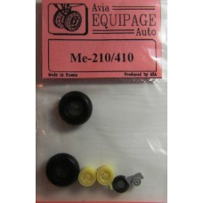 EQA-72013 Equipage 1/72 Rubber Wheels for Messerschmitt Me-210 late / Me-410