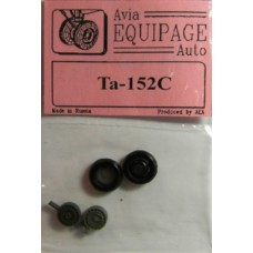 EQA-72029 Equipage 1/72 Rubber Wheels for Focke-Wulf TA-152C