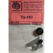 EQA-72032 Equipage 1/72 Rubber Wheels for Focke-Wulf Ta-183
