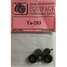EQA-72033 Equipage 1/72 Rubber Wheels for Focke-Wulf Ta-283