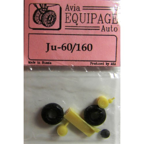 EQA-72042 Equipage 1/72 Rubber Wheels for Junkers Ju-60 / Ju-160