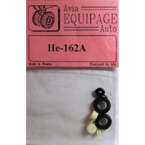 EQA-72054 Equipage 1/72 Rubber Wheels for Heinkel He-162A
