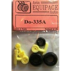 EQA-72062 Equipage 1/72 Rubber Wheels for Dornier Do-335A