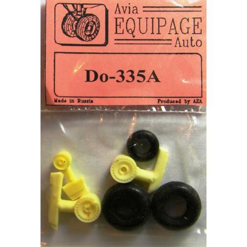 EQA-72062 Equipage 1/72 Rubber Wheels for Dornier Do-335A