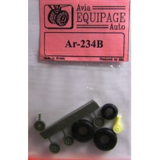 EQA-72070 Equipage 1/72 Rubber Wheels for Arado Ar-234B