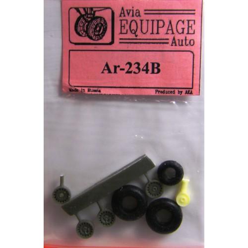 EQA-72070 Equipage 1/72 Rubber Wheels for Arado Ar-234B