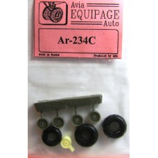 EQA-72071 Equipage 1/72 Rubber Wheels for Arado Ar-234C