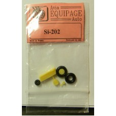 EQA-72075 Equipage 1/72 Rubber Wheels for Siebel Si-202
