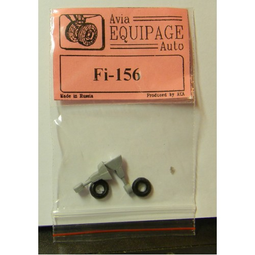 EQA-72078 Equipage 1/72 Rubber Wheels for Fieseler Fi-156