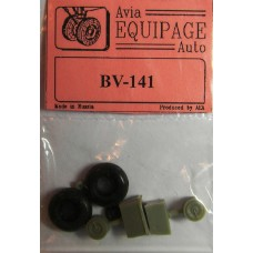 EQA-72079 Equipage 1/72 Rubber Wheels for Blohm und Voss BV-141