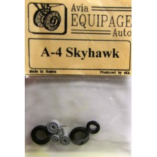EQB-72049 Equipage 1/72 Rubber Wheels for Douglas A-4 Skyhawk
