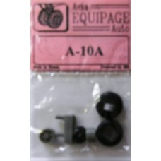 EQB-72052 Equipage 1/72 Rubber Wheels for Fairchild Republic A-10A Thunderbolt II