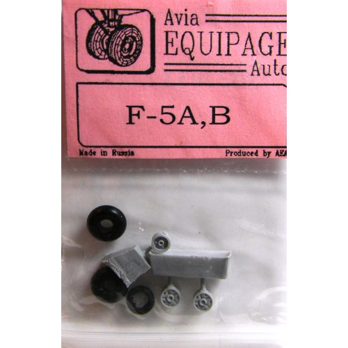 EQB-72053 Equipage 1/72 Rubber Wheels for Northrop F-5A / F-5B Freedom Fighter