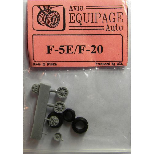 EQB-72054 Equipage 1/72 Rubber Wheels for Northrop F-5E Tiger II