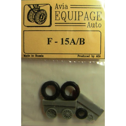 EQB-72056 Equipage 1/72 Rubber Wheels for McDonnell Douglas F-15A / F-15B Eagle