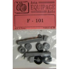 EQB-72063 Equipage 1/72 Rubber Wheels for McDonnell F-101 Voodoo