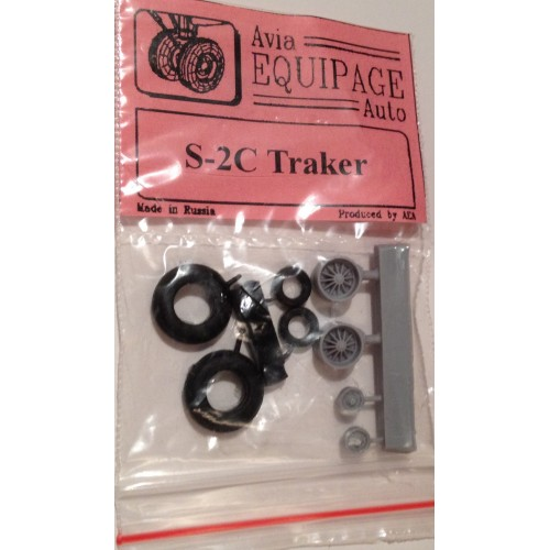 EQB-72073 Equipage 1/72 Rubber Wheels for Grumman S-2C Tracker