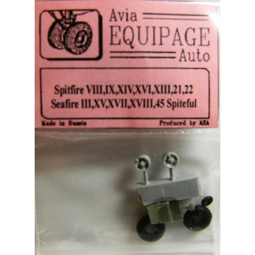 EQC-72025 Equipage 1/72 Rubber Wheels for Seafire Mk.III, XV, XVII, XVIII, 45 / Spiteful