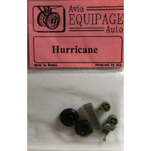 EQC-72027 Equipage 1/72 Rubber Wheels for Hawker Hurricane