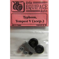 EQC-72028 Equipage 1/72 Rubber Wheels for Hawker Typhoon