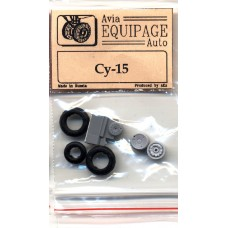 EQG-72045 Equipage 1/72 Rubber Wheels for Sukhoi Su-15