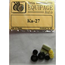 EQG-72105 Equipage 1/72 Rubber Wheels for Kamov Ka-27, Ka-28