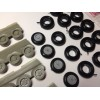 EQG-72200SP Equipage 1/72 Rubber Wheels for Ilyushin Il-76 Candid Russian Heavy Military Transport Aircraft