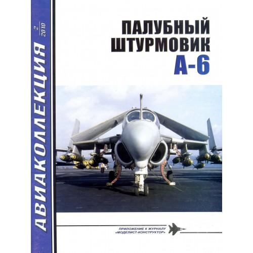AKL-201002 AviaKollektsia N2 2010: Grumman A-6 Intruder US Navy Carrier-Based Attack Aircraft magazine