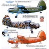 AVV-199704 Aviation and Time 1997-4 1/72 Tupolev TB-3 WW2 Heavy Bomber, 1/72 Rockwell OV-10A Bronco scale plans on insert