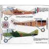AVV-199802 Aviation and Time 1998-2 1/72 Yakovlev Yak-28, 1/72 Ansaldo A.1 Balilla scale plans on insert