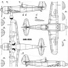 AVV-200206 Aviation and Time 2002-6 1/72 Yakovlev Yak-15, Yak-17 Soviet Jet Fighters of 1940s, 1/72 IAR-80A scale plans on insert