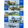 AVV-201103 Aviation and Time 2011-3 1/72 McDonnell Douglas F-4 Phantom II Jet Fighter scale plans of all variants on insert
