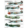 AVV-201204 Aviation and Time N4 2012 1/72 Lavockin La-7 WW2 Fighter, 1/72 North American F-107A Jet Fighter scale plans