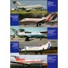 AVV-201304 Aviation and Time N4 2013 1/72 Yakovlev Yak-40 Airliner, 1/72 E6Y1, E9W1, E14Y1 Japanese Submarine-Borne Aircraft scale plans on insert