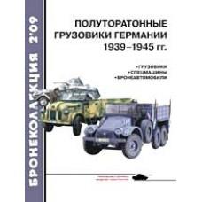 BKL-200902 ArmourCollection 2/2009: WW2 German 1.5 Ton Trucks 1939-1945 magazine