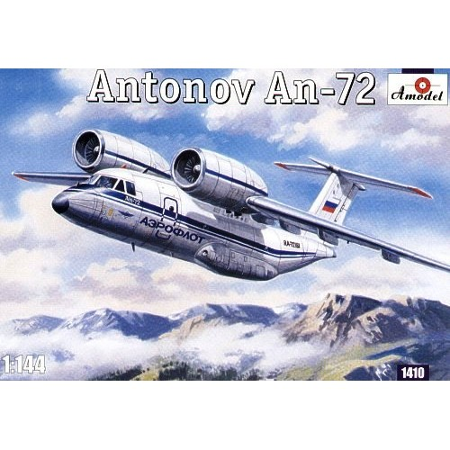 AMO-1410 1/144 An-72 model kit