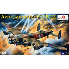 AMO-1411 1/144 Lancaster MkI/MKIII model kit