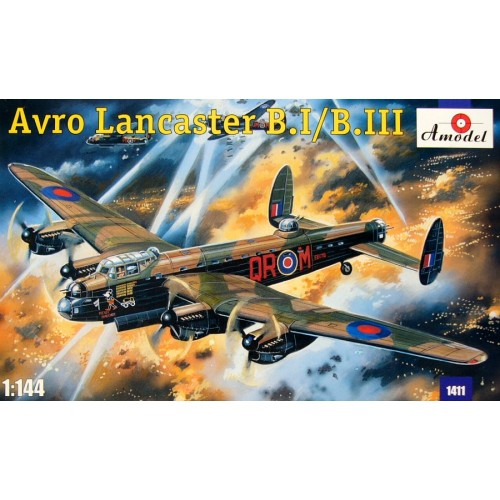 AMO-1411 1/144 Lancaster MkI/MKIII model kit