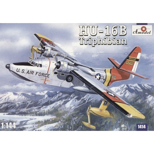 AMO-1414 1/144 HU-16B Tripfibian model kit