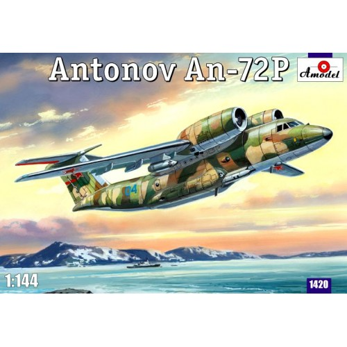 AMO-1420 1/144 An-72P model kit