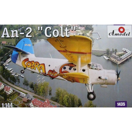 AMO-1435 1/144 An-2 model kit