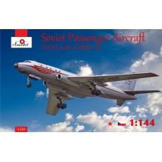 AMO-1450 1/144 Tu-104A model kit