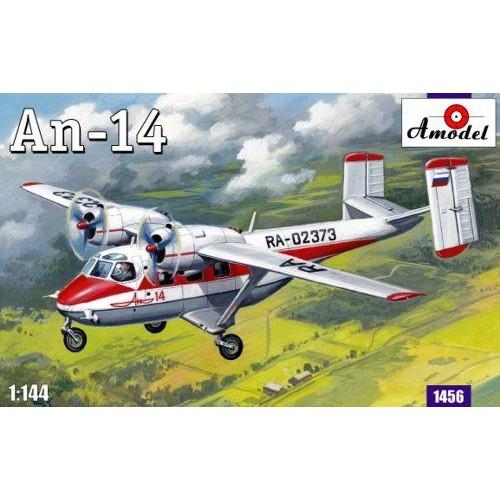 AMO-1456 1/144 An-14 model kit