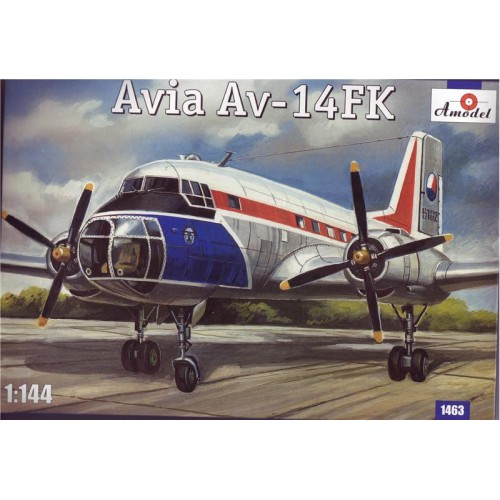 AMO-1463 1/144 Avia Av-14 model kit