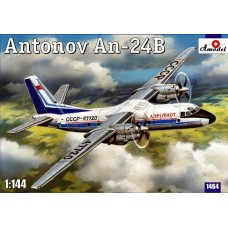 AMO-1464 1/144 An-24 model kit